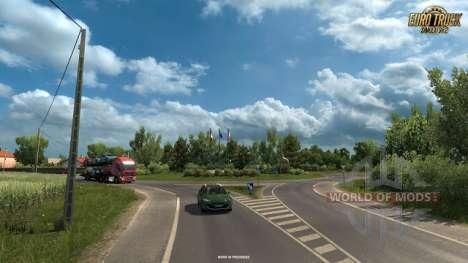 Nouvelles captures d'écran de Vive La France DLC pour Euro Truck Simulator 2
