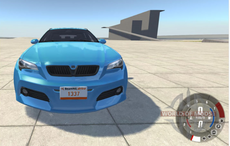 License plate modding in BeamNG Drive