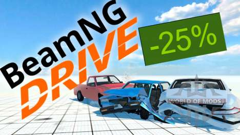 25% de reduction sur BeamNG Drive a Steam