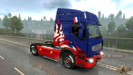 drapeau français pour Euro Truck Simulator 2