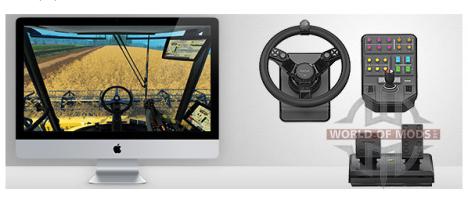 Saitek Roue pour Farming Simulator Farming Simulator 2015 est entièrement compatible avec Mac OS X!