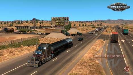 Arizona DLC de presse pour American Truck Simulator