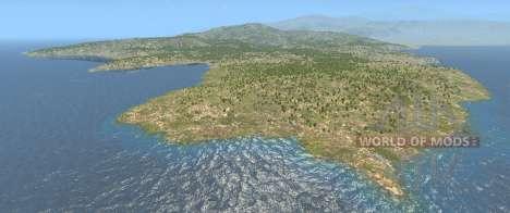 Die Italien-Karte für BeamNG Drive