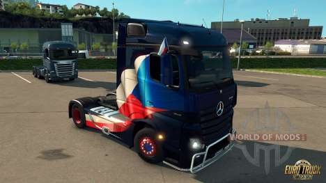 National Window Flags DLC für den Euro Truck Simulator 2