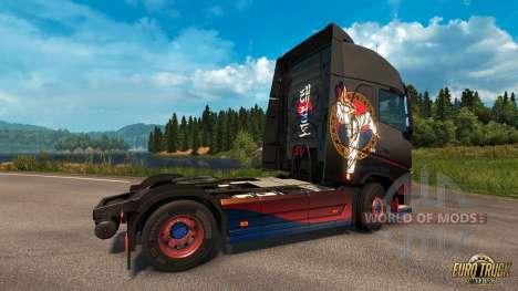 Taekwondo-peau pour Euro Truck Simulator 2