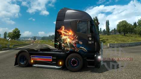Gamer Paradis de la peau pour Euro Truck Simulator 2