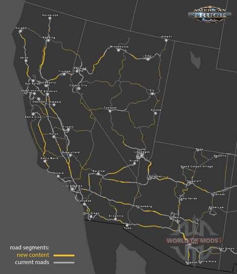 Recyclage de la route systeme de American Truck Simulator