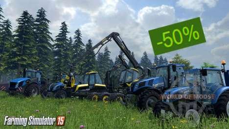 des Réductions sur Farming Simulator 15