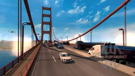 Das andern der Skalierung der American Truck Simulator-Spiel-Welt