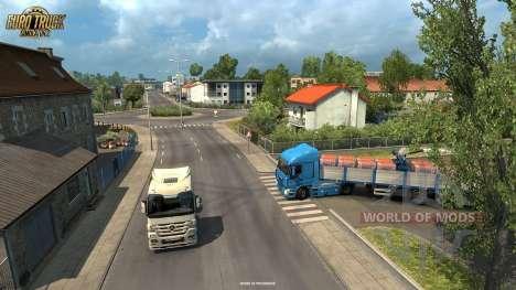 Livraison de la Cargaison à La Rochelle à partir de l'Vive La France mise à jour pour Euro Truck Simulator 2