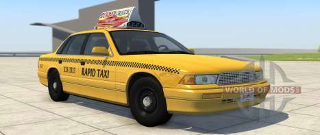 Grand Marshal Taxi-Variante von BeamNG Drive