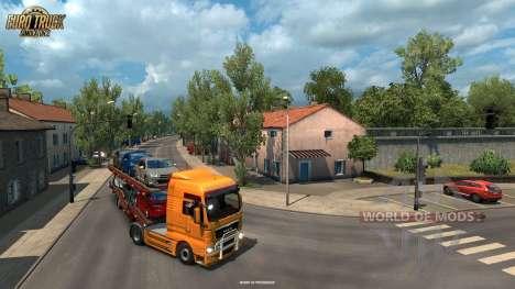 Schmalen Stäbe von La Rochelle aus Vive La France-update für Euro Truck Simulator 2