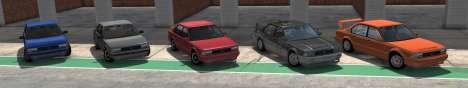 ETK j'Série de BeamNG Drive - toutes les variantes
