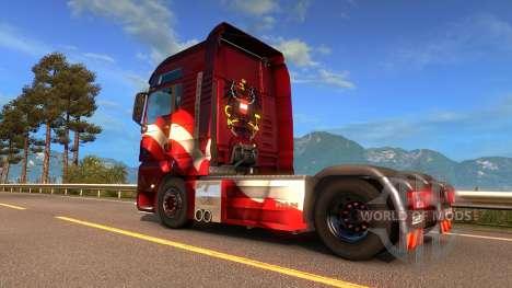Autrichien de la peau pour Euro Truck Simulator 2