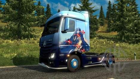 Suisse de la peau pour Euro Truck Simulator 2