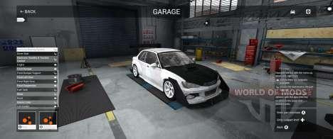 Garage de la Mode dans BeamNG Drive