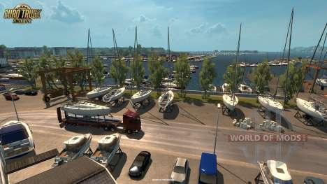 Nouvelles captures d'écran de l'Vive La France mise à jour pour Euro Truck Simulator 2