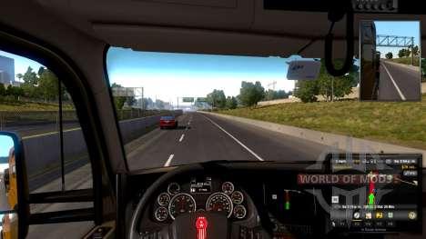 Verstellbare lenkrad für American Truck Simulator