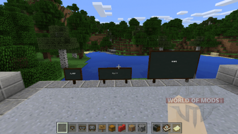 Kreidetafeln in Minecraft Education Edition