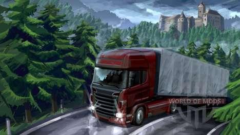 Forêt de l'aventure dans Euro Truck Simulator 2