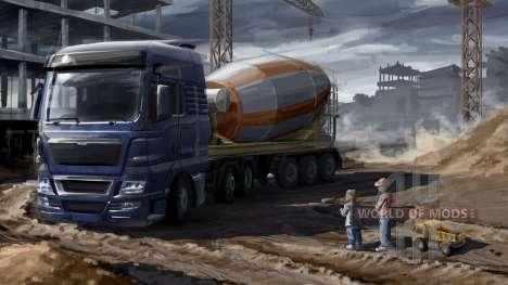 Pères et fils dans Euro Truck Simulator 2