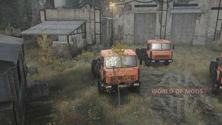 Comment ouvrir un garage dans Spintires