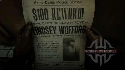 Die Jagd nach Lindsey Wofford