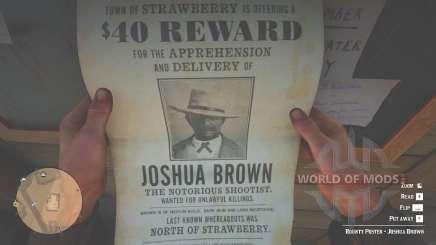 Joshua Brown Plakat