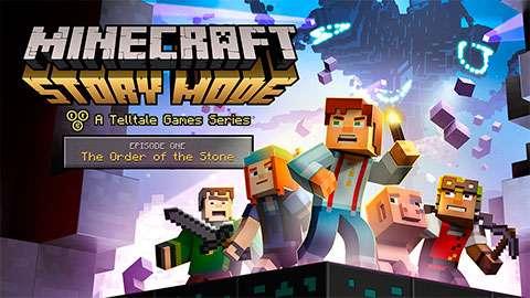 Minecraft Story-Modus ist bereits vorhanden!