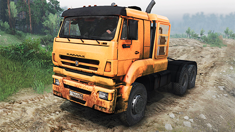 Grand mod KAMAZ 65226 pour SpinTires 2014