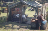 Red Dead Redemprion 2: l'emplacement du camp