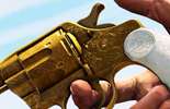 Golden revolver in Red Dead Redemption 2