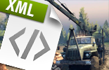 SpinTires fichiers XML guide