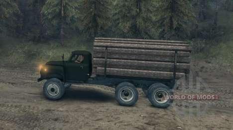 Gaz-52 modifié pour Spin Tires