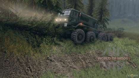 SpinTires Tech Demo v1.1 (13 mai) 2013 RUS et ENG