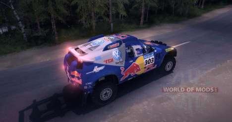 Volkswagen Touareg Dakar Beta für Spin Tires