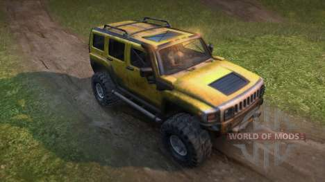 Hummer H3 pour Spin Tires