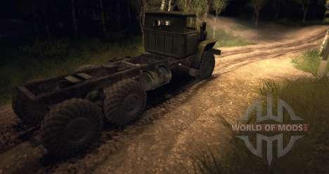 Châssis Ural pour Spin Tires