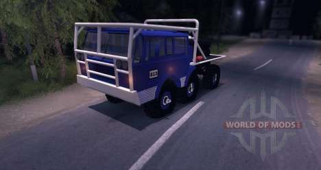 Tatra 813 6X6 TRUCKTRIAL pour Spin Tires