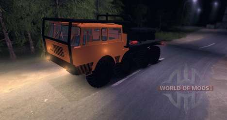 Tatra 813 8x8 TRUCK TRIAL pour Spin Tires