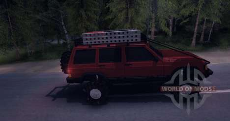Jeep Cherokee v1.0 pour Spin Tires