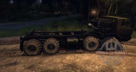 KrAZ 6316 Sibérie Beta pour Spin Tires