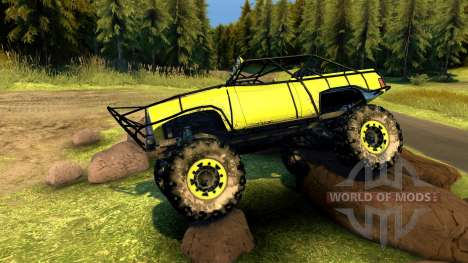 Chevy Blazer Rock Crawler pour Spin Tires