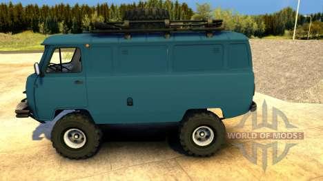 UAZ-452 Tablet pour Spin Tires