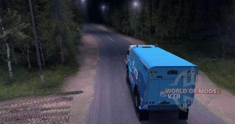 KAMAZ MASTER 4911 Dakar Rally pour Spin Tires