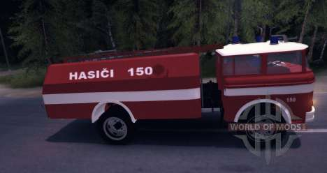 LIAZ (Skoda) 706 RT - old firetruck pour Spin Tires
