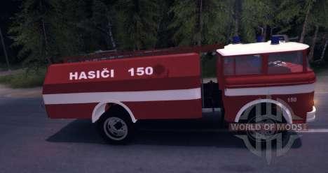 LIAZ (Skoda) 706 RT - old firetruck für Spin Tires