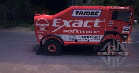 MAN TGA 18.531BB DAKAR für Spin Tires