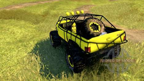 Chevy Blazer Rock Crawler für Spin Tires