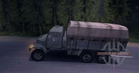 Praga V3S pour Spin Tires